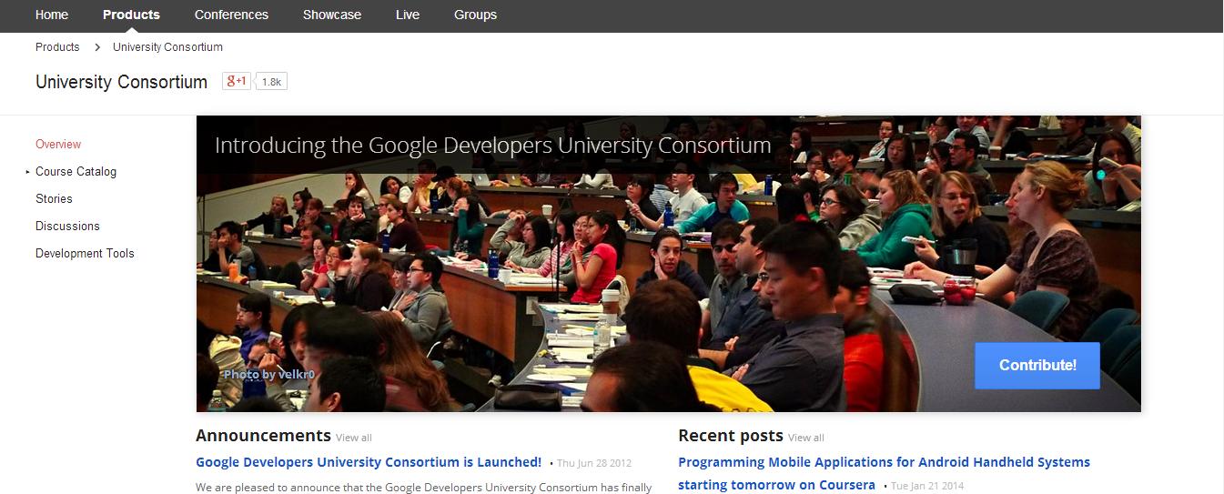Google University Consortium
